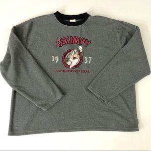 Disney Store Exclusive Men's Grumpy Sweater